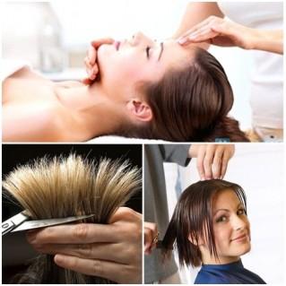 Gói dịch vụ chăm sóc tóc và da mặt trọn gói