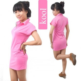 Đầm hồng thời trang