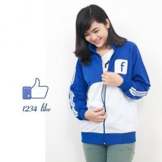 Hot cùng cơn sốt áo khoác Facebook cho nữ