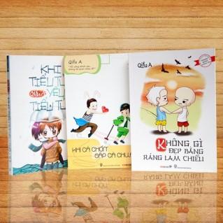 Bộ sách của tác giả QIFU A (03 cuốn)