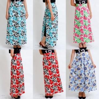 Váy chống nắng họa tiết thời trang
