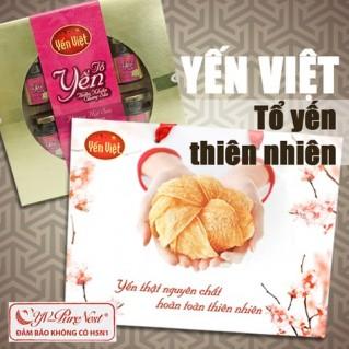 Tổ yến thiên nhiên chưng sẵn thương hiệu Yến Việt