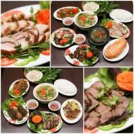 Set ăn Lợn mán hoặc Ngỗng tại nhà hàng Ngự Miêu