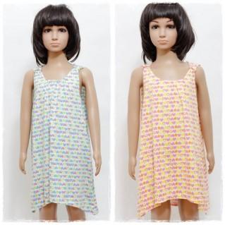 Váy cotton xinh xắn cho bé gái