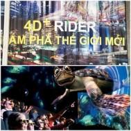 Mua Chung - Combo 2 ve xem phim 4D tai 4D WORLD RIDER