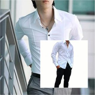 Áo sơ mi nam body phong cách Hàn Quốc