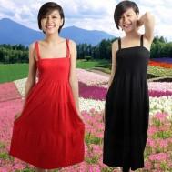 Duyên dáng cùng đầm thun maxi - 1 - Thời Trang Nữ