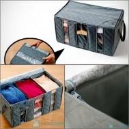 Túi vải 3 ngăn giúp tiết kiệm không gian