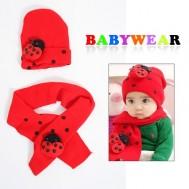 Bộ khăn choàng + nón cho bé - 4 - Đồ Chơi