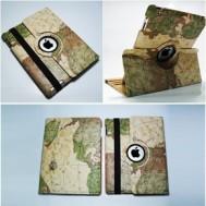 Mua Chung - Bao da iPad 2, 3, 4 xoay 360 do hoa tiet ban do