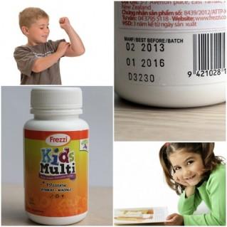 TPCN Vitamin và khoáng chất cho trẻ em Kid Multi