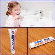 Combo 3 tuýp Kem đánh răng Super-Dent