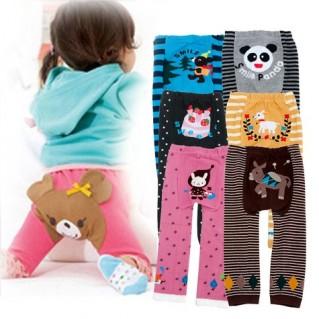 Combo 2 quần len hình thú cho bé