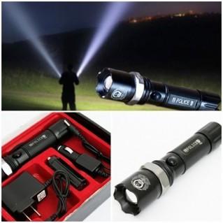 Đèn pin sạc siêu sáng, dùng cả pin sạc và pin tiểu
