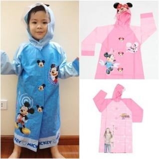 Tiện dụng với áo mưa hoạt hình cho bé!