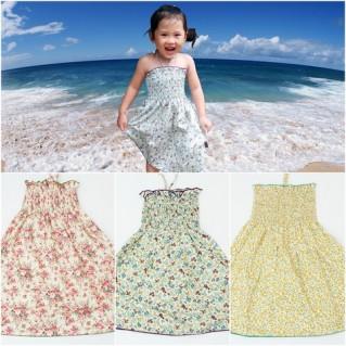 Tỏa sáng dưới nắng biển với váy maxi hoa nhí