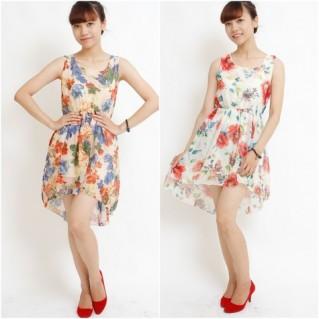 Váy voan hoa mullet - tô thêm nét dịu dàng bạn gái