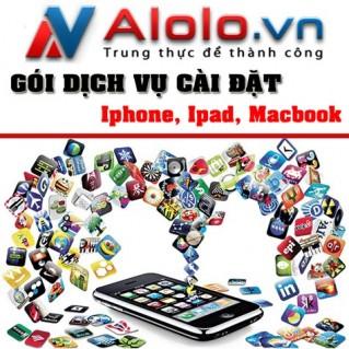 Gói dịch vụ cài đặt iPhone, iPad, Macbook