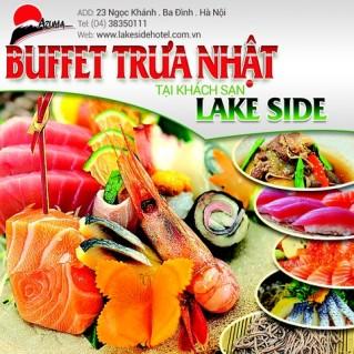 Buffet Trưa Nhật Bản tại nhà hàng Azuma