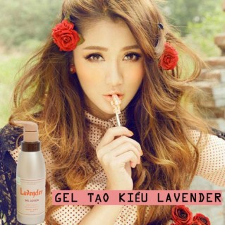 Gel vuốt tóc Lavender