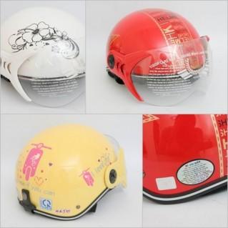 An toàn cùng Mũ bảo hiểm có kính cho người lớn