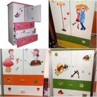 Tủ trẻ em 80x40x120 cm