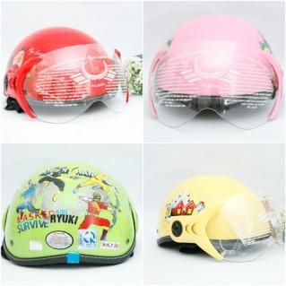 Bảo vệ bé yêu với mũ bảo hiểm