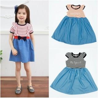 Váy denim sành điệu cho con gái yêu!