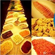 Buffet lẩu buổi tối tại Phố Á