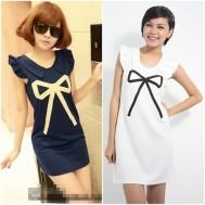 Đầm suôn tay ngắn xinh xắn - 1 - Thời Trang Nữ - Thời Trang Nữ