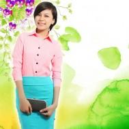 Thanh lịch với áo sơ mi sọc tay dài - 2 - Thời Trang Nữ