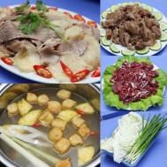 Set ăn Bò nhúng dấm cho 3 -4 người