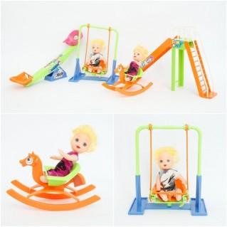 Bộ đồ chơi bập bênh - cầu trượt cho bé