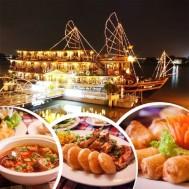 Set ăn tối trên du thuyền 5* Indochina Junk