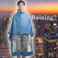 Áo mưa vải dù tiện dụng