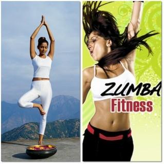 Khóa học Zumba Fitness & Yoga tại V Club