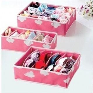 Bộ 3 hộp đựng đồ lót cho bạn gái