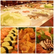 Buffet trưa phong cách ẩm thực Singapore