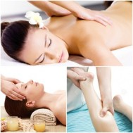 Massage body muối nóng tại HP Oxygen Spa