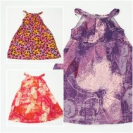 Combo 2 váy cotton cho bé