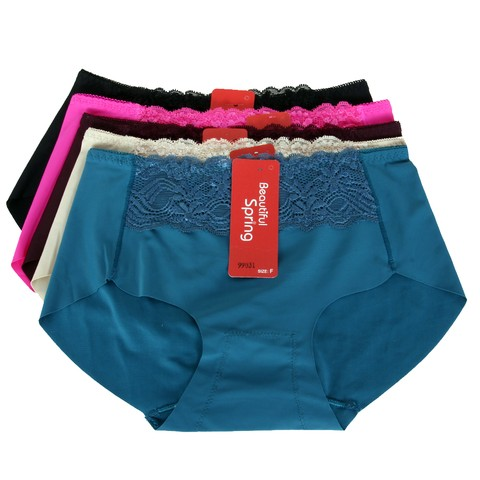 05 quần lót ren chất cotton mềm mại