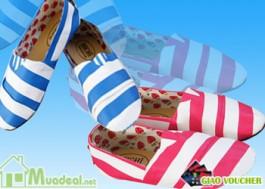 Giày bệt Michi thời trang