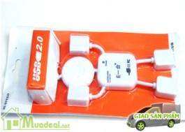Mua Deal - Bo chia USB 4 cong Robot