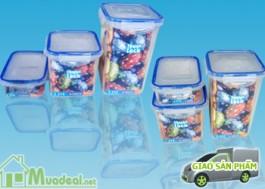 Bộ 3 hộp nhựa đựng thực…