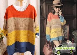 Áo len ziczac thời trang - Thời Trang và Phụ Kiện