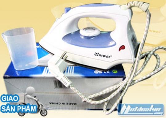 Hotdeal - Bàn ủi hơi nước Rewei