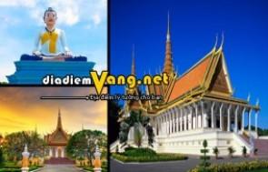 Mua Giá Tốt - Tour Du Lich Campuchia 4 Ngay 3 Dem - Tang them Voucher Tri Gia 1.500.000d
