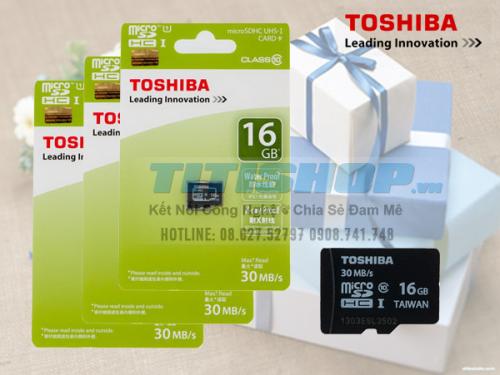 Mua Hàng VIP - The nho Dien thoai 16G TOSHIBA CLASS 10