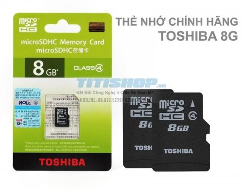 Mua Hàng VIP - The nho Full box Toshiba 8gb class 4