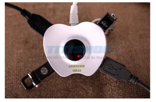 Mua Hàng VIP - Hub USB 4 Cong hinh trai tao
